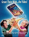 Aladdin VHS advertisment