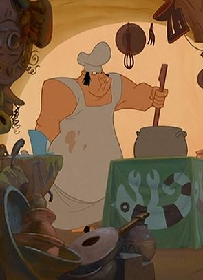 Irate Chef