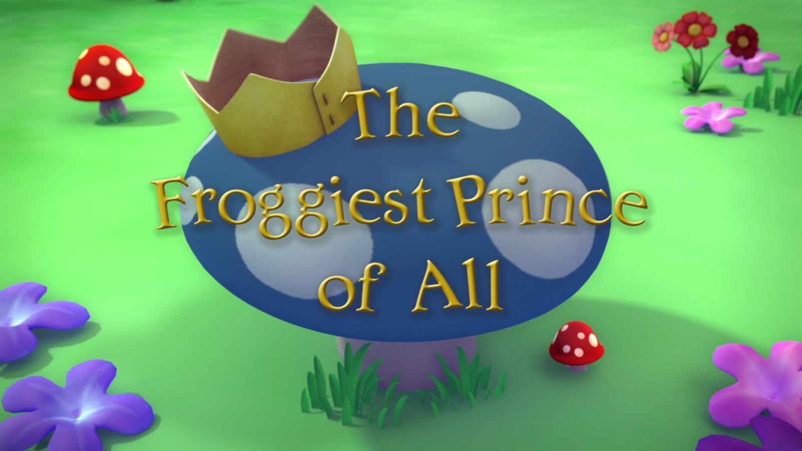 The Froggiest Prince of All