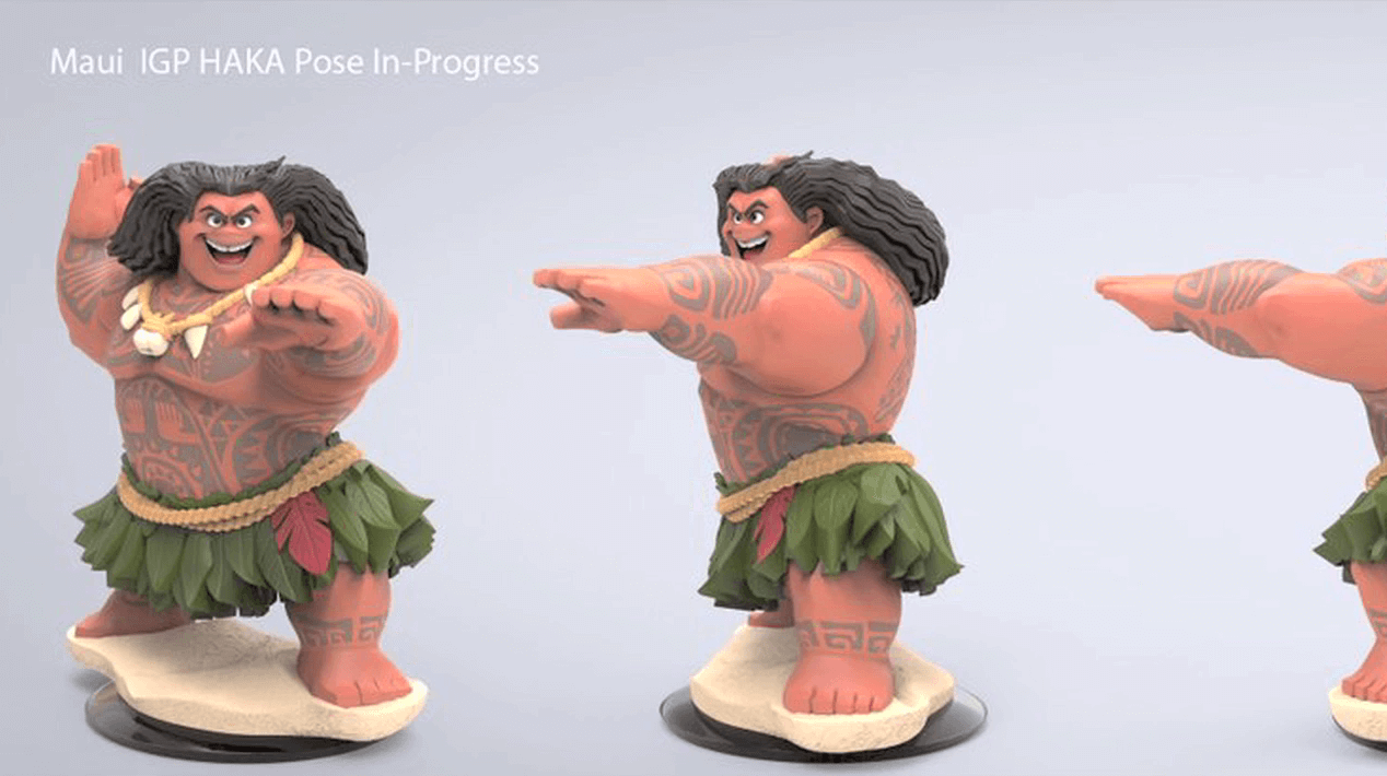 Cancelled Disney INFINITY Figure - Maui.png