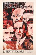 Hall of Presidents Poster