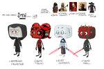 Star Wars Avatars Concept Art