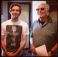 Thomas Middleditch and Adam West
