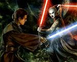 Anakin vs Asajj Yavin4