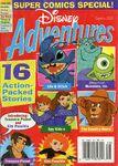 Disney Adventures Magazine cover Comics 2002