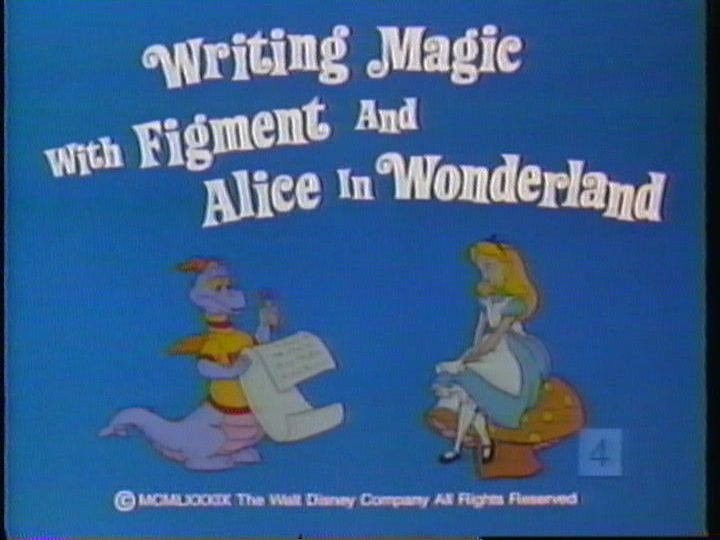 Writing Magic with Figment and Alice in Wonderland