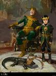 Lokis Concept Art