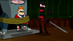 Secret Stache - Howard and Ninja 05