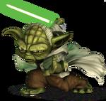 Yoda detail cw model