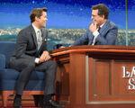 Andrew Rannells visits Stephen Colbert