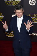 Andy Serkis SW The Force Awakens premiere