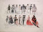 Cruella's 102 costume designs