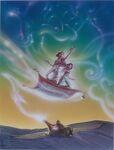 Disney's Aladdin - Unused Concept Poster Art by John Alvin - 13