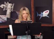 Kaitlin Olson behind the scenes Finding Dory