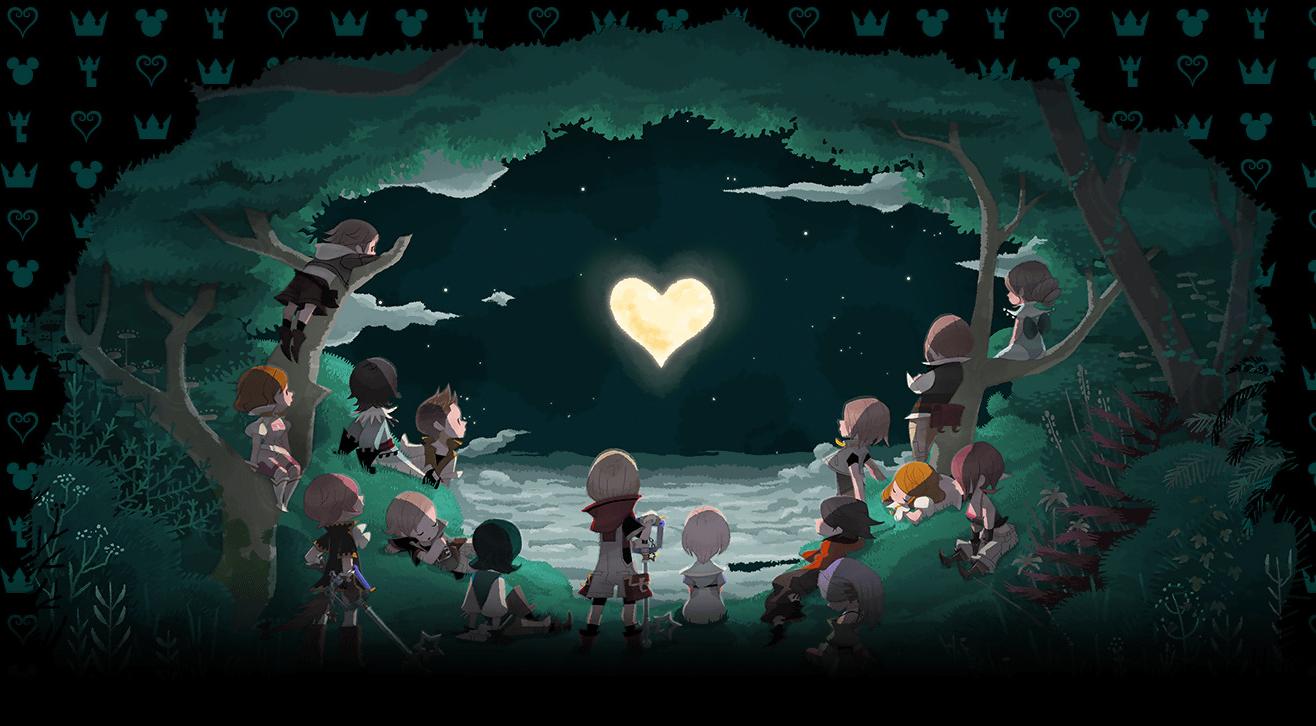 Kingdom Hearts χ/Gallery
