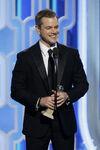 Matt Damon 73rd Golden Globes