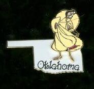 Oklahoma Pin