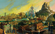 Discovery Bay Concept Painting