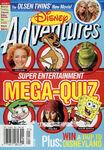 Disney Adventures Magazine cover May 2004 Mega Quiz