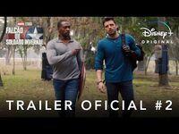Falcão e o Soldado Invernal - Marvel Studios - Trailer Final Oficial Dublado - Disney+