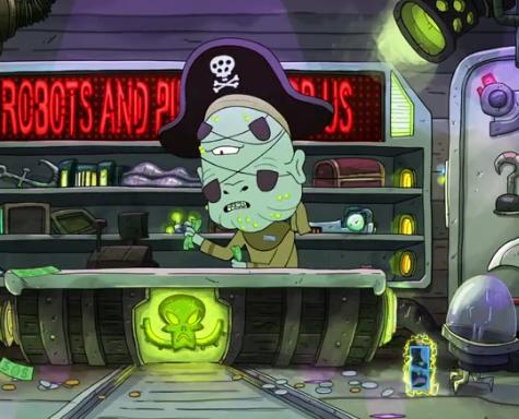 Pirate Alien Salesman