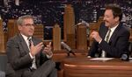 Steve Carell visits Jimmy Fallon