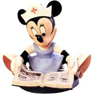 WDCC First Aiders Minnie Mouse