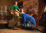 Anstasia-drizella-trying-on-the-shoe