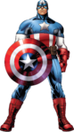 Captain America AA Render
