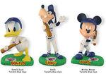 Donald goofy & mickey baseball players