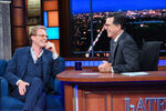 Paul Bettany visits Stephen Colbert
