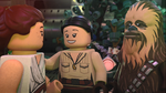 Rey, Rose and Chewie - The LEGO Star Wars Holiday Special