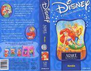 VHS - A Pequena Sereia Séries - Heróis