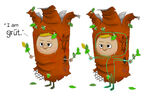Adult Groot Avatar Concept Art 2