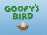 Goofy's Bird