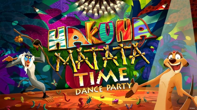 Hakuna Matata Time Dance Party