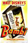 Original Bambi Poster