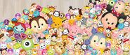 Tsum Tsum Game Characters