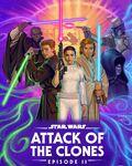 Disneyplus - May 4th - Attack of the Clones Art