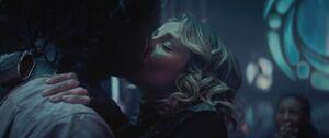 Sylvie and Loki kiss - Loki EP6