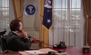 The President in The Million Dollar Duck