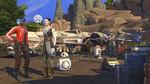 The Sims 4 Star Wars Journey to Batuu - Vi Moradi and Rey