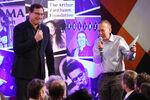 Bob Saget & Gilbert Gottfried speak Scleroderma event