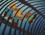 Three Mice on Trap