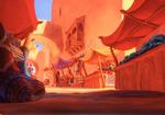 Aladdin Marketplace Concept Art 1