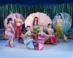 Ariel's sisters on ice