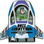 Buzz Lightyear Ship Pin