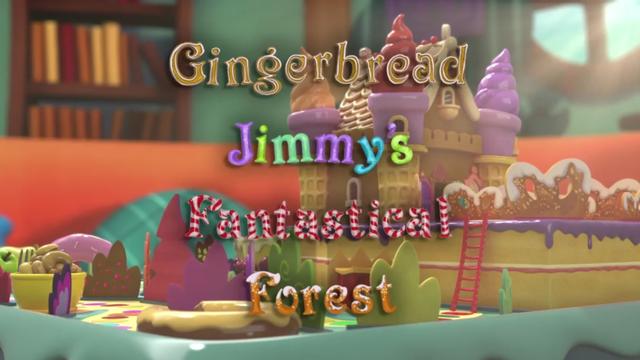 A Floresta Fantástica do Jimmy do Pão de Mel