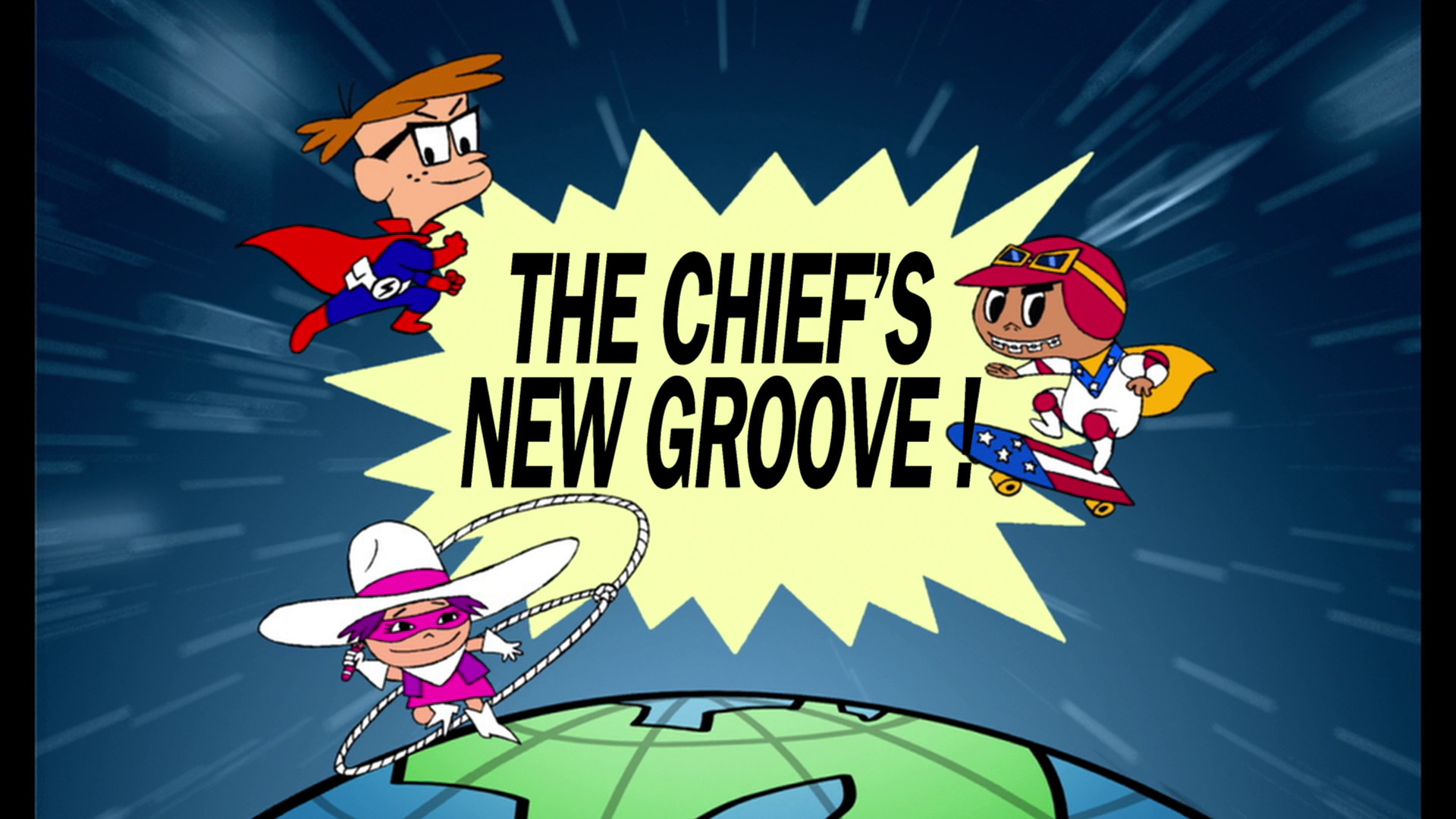 The Chief's New Groove!