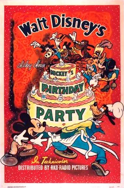 A Festa de Aniversário do Mickey